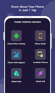 Phone Version Checker For Android Screenshot