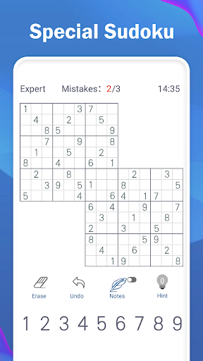 Sudoku Joy - 2021 Free Classic Sudoku Puzzle Game 3.6701 screenshots 2