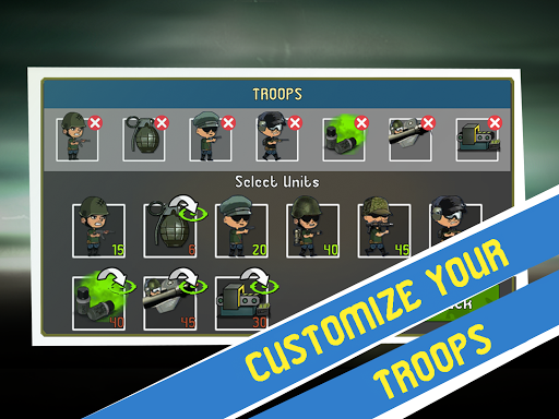 War Troops: Military Strategy Game for Free 1.25 screenshots 11