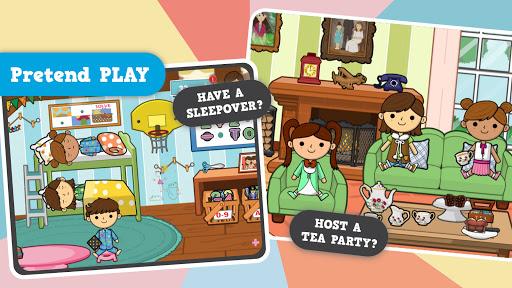Lila's World: Create, Play, Learn in Granny's Town  screenshots 1