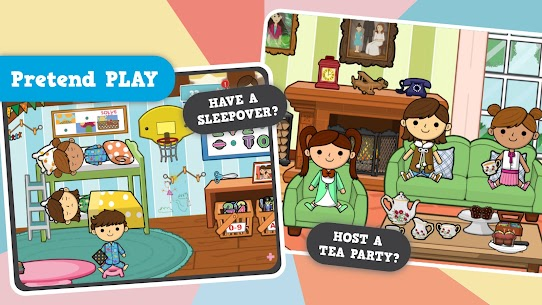 Free Lila' s World  create, Play, Learn in Granny' s Town 1