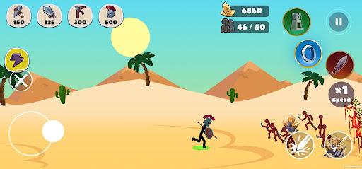 Stickman Battle Empires War  screenshots 5