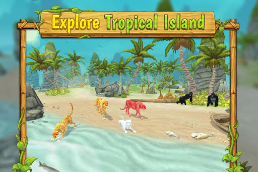 Cheetah Family Sim - Animal Simulator apktram screenshots 5