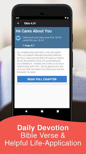 King James Bible KJV Free 2.0.27 APK screenshots 2