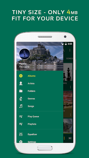 Pulsar Music Player - Mp3 Player, Audio Player 1.10.1 screenshots 3