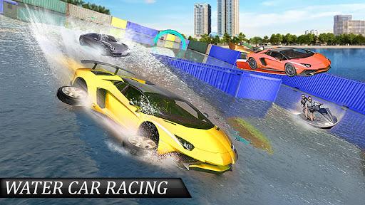 water surfing floating car racing game 2020 screenshot 3