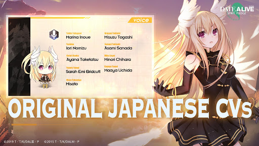 Date A Live: Spirit Pledge - Global screenshots 6