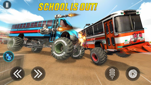 Monster Bus Derby - Bus Demolition Derby 2021 2.8 screenshots 12