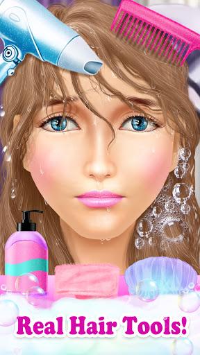 Princess HAIR Salon Makeup Dress up Girl Games android2mod screenshots 3