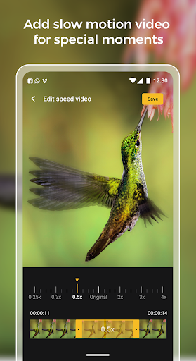 Slow motion - Speed up video - Speed motion 1.0.51 Screenshots 4