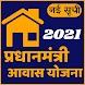 आवास योजना की नई सूचि 2021-22, Awas Yojana List