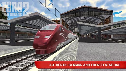 Télécharger Gratuit Euro Train Simulator 2 apk mod screenshots 5