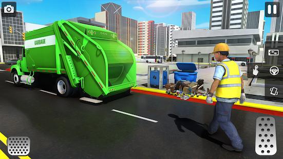 City Trash Truck Simulator: Dump Truck Games 1.37 Screenshots 2