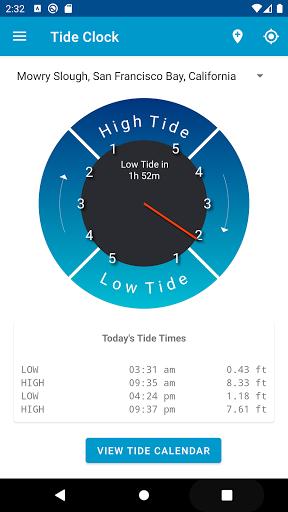 Tide Clock Free  screenshots 1