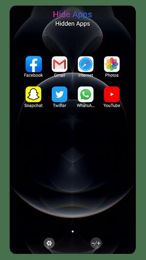 OS14 Launcher, Control Center, App Library i OS14  Screenshots 7