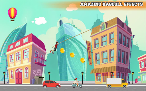 City bounce rope hero–Free offline adventure games 1.31 screenshots 1