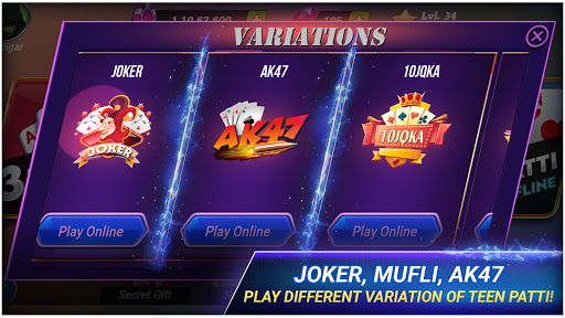 Teen Patti Royal - 3 Patti Online & Offline Game 4.4.4 screenshots 14