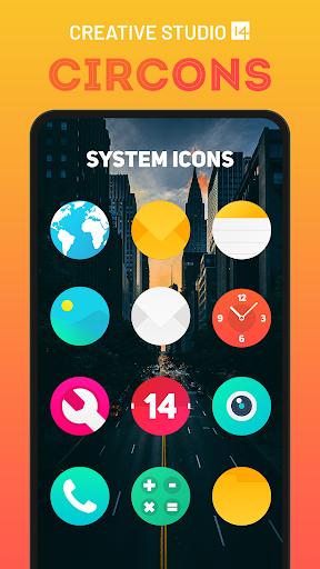 circons icon pack - colorful circle icons screenshot 1