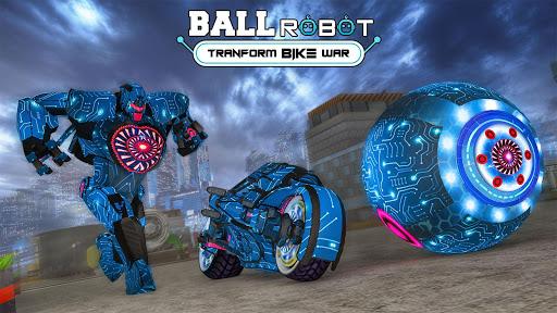 Ball Robot Transform Bike War : Robot Games 2.0 screenshots 1
