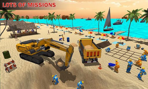 House Construction Beach Building Sim ss1