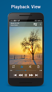 Laya Music Player Screenshot
