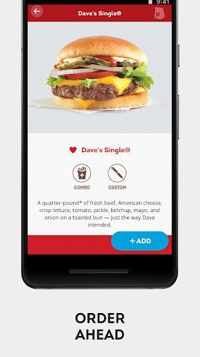 Wendyu2019s u2013 Earn Rewards, Order Food & Score Offers  screenshots 6