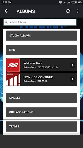 iKON Lyrics (Offline) screenshots 3
