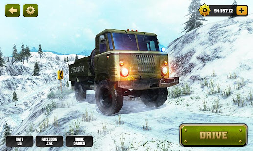 offroad army truck driver 2017 hack