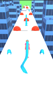 Hair Challenge 3D Long hair game run rush runner