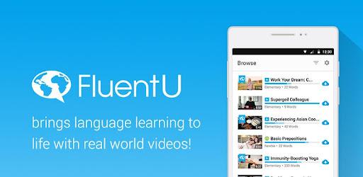 آموزش زبان در سایت fluentu