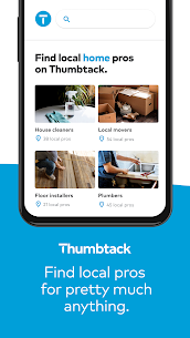 Thumbtack  Hire Pros – Cleaners, Handymen, Movers Apk Download 3