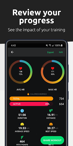 FITIV Pulse: Heart Rate Monitor + Workout Tracker android2mod screenshots 5
