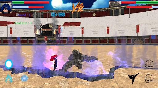 Ultra Instinct epic battles 2021 APK MOD (Astuce) screenshots 1