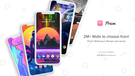 Prism - Exclusive Wallpapers & Setups 2.6.9