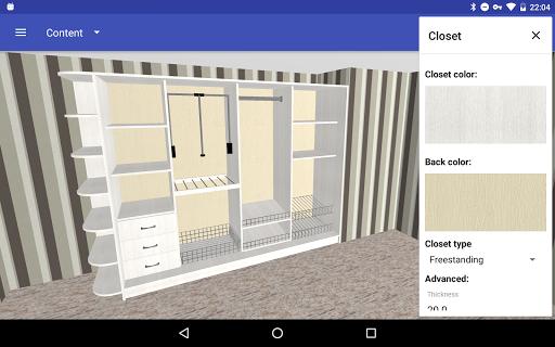 Closet Planner 3D 2.7.1 Screenshots 3