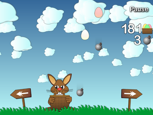 Rushing Bunny, help me to collect all the eggs screenshots 4