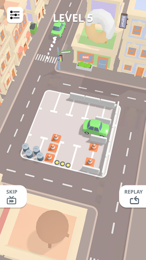 u200eCar Parking Puzzle - City Game android2mod screenshots 2