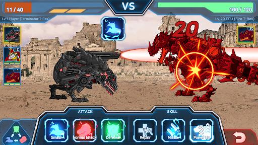 Dino Robot Battle Field - Armoured Dinosaurs War  screenshots 4