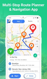 GPS Route Planner 9