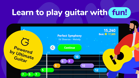 MelodiQ: Real Guitar Teacher Screenshot
