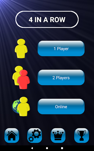 4 in a row - Board game for 2 players  Screenshots 5