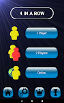 screenshot of 4 in a row - Board game for 2 players