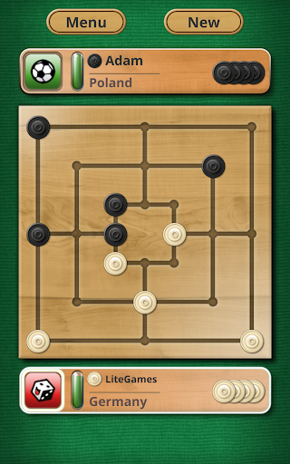 Nine men's Morris - Mills - Free online board game 2.8.12 Screenshots 7