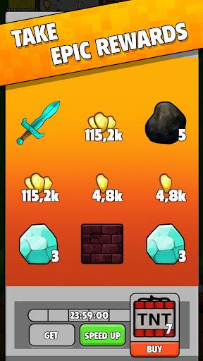 Minetap: Epic Clicker! Tap Crafting & mine heroes 1.5.5 screenshots 8
