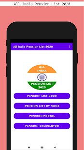 Download All India Pension List 2020 For PC Windows and Mac apk screenshot 1