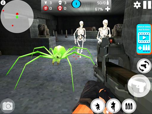 Skeleton Shooting War: Survival 3.9 screenshots 11