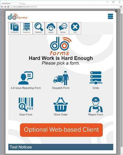 doForms Mobile Data Platform modavailable screenshots 7