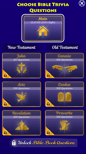 Play The Jesus Bible Trivia Challenge Quiz Game screenshots 6