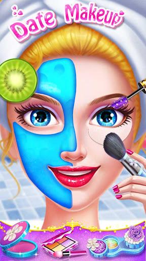 ud83cudfebud83dudc84School Date Makeup - Girl Dress Up  screenshots 1