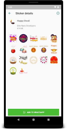 diwali stickers for whatsapp, wastickerapps screenshot 2